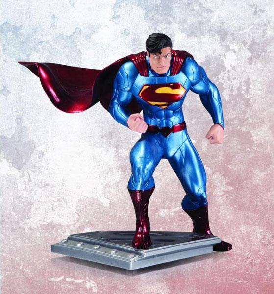 スーパーマン・ザ・マン・オブ・スティール スタチュー スーパーマン(ジム・リー版) 単品[DCダイレクト]《在庫切れ》