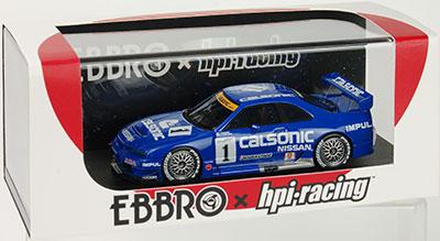 1/43 CALSONIC Skyline GT-R (#1) 1996 JGTC Sendai K.Hoshino/M.Kageyama[EBBRO]【同梱不可】【送料無料】《在庫切れ》