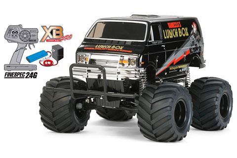 XB 2WDオフロードカー ランチボックス ブラックエディション(再販)[タミヤ]《在庫切れ》