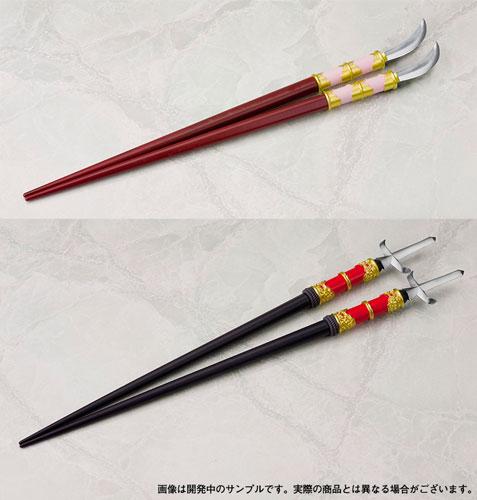 日本刀箸 戦国夫婦箸 前田利家とまつ 2膳セット[コトブキヤ]《在庫切れ》
