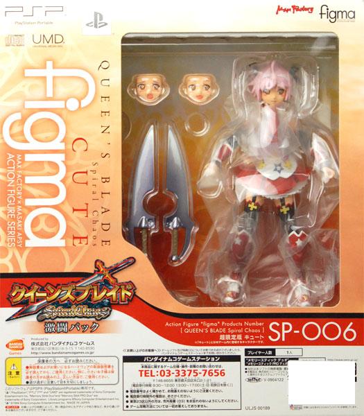 figma キュート(PSP クイーンズブレイド スパイラルカオス 激闘パック同梱)単品