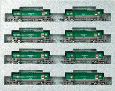 10-1167 タキ1000 日本石油輸送色 ENEOS(エコレールマーク付)8両セットB(再販)[KATO]《11月予約》