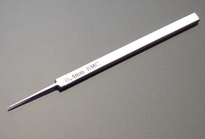BMCタガネ 幅0.4mm[スジボリ堂]《在庫切れ》