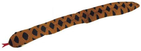 アドベンチャーシリーズ ヘビのペンケース ヘビ柄[サンライズ]《在庫切れ》