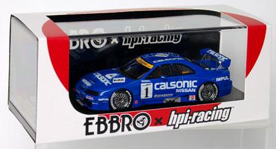 1/43 カルソニック スカイライン GT-R JGTC 菅生 1996 #1 K.Hoshino/M.Kageyama[EBBRO]《在庫切れ》