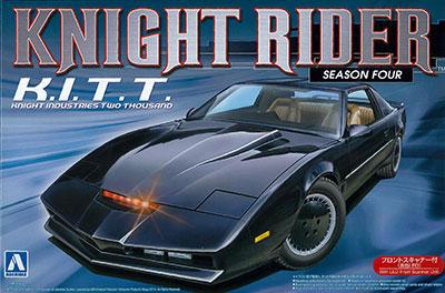 ムービーメカ 1/24 ナイトライダー ナイト2000 K.I.T.T. シーズンIV(フロントスキャナー付) プラモデル[アオシマ]《在庫切れ》