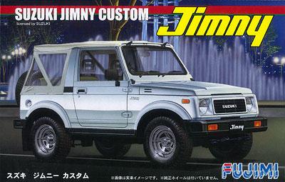1/24 インチアップシリーズ No.070 スズキ ジムニー 1300 カスタム 1986 プラモデル(再販)[フジミ模型]《発売済・在庫品》
