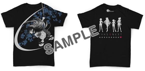 つよきすNEXT オリジナルヒロインズTシャツ サイズXL[CranCrownBlack]《在庫切れ》