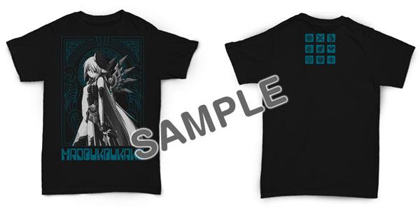 魔導巧殻 オリジナルヒロインズTシャツ サイズXL[CranCrownBlack]《在庫切れ》