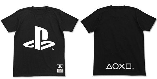 Tシャツ プレイステーションファミリーマーク/ブラック-M(再販)[コスパ]《06月予約》