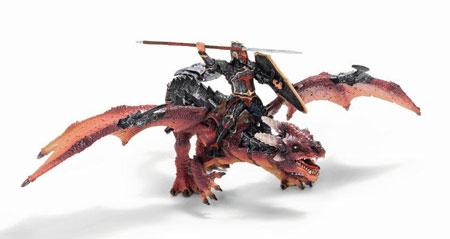 schleich -ワールド・オブ・ナイト- 70100 ドラゴン・ライダー