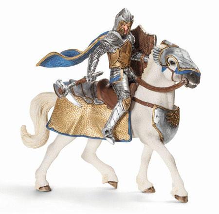 schleich -ワールド・オブ・ナイト- 70108 グリフィン・ナイト(馬)