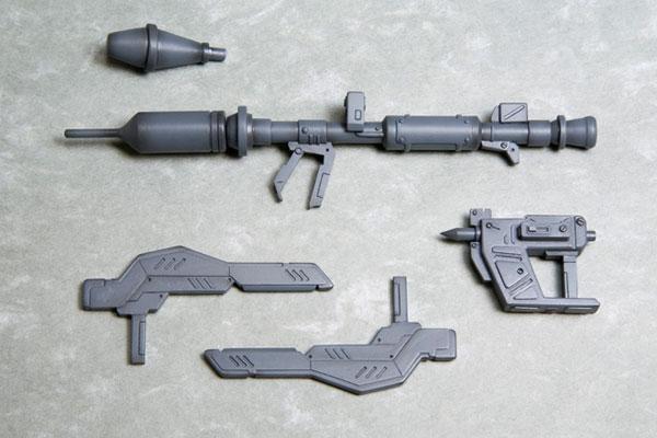 M.S.G ウェポンユニット12 MW12R パンツァーファウスト・トンファー (リニューアル再生産)(再販)[コトブキヤ]《発売済・在庫品》