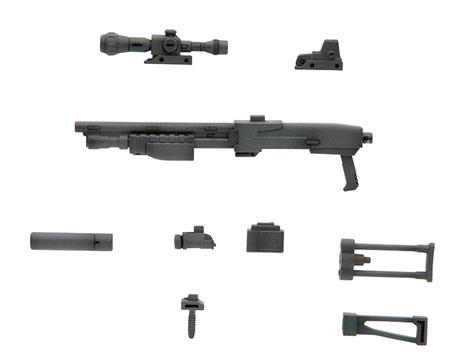 M.S.G モデリングサポートグッズ ウェポンユニット MW16R ショットガン (リニューアル再生産)(再販)[コトブキヤ]《発売済・在庫品》
