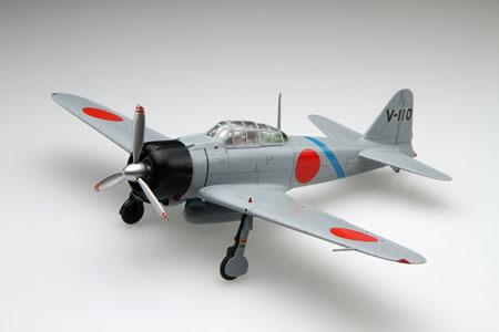 1/48 日本の戦闘機シリーズ No.1 三菱 零式艦上戦闘機 21型 プラモデル(再販)[フジミ模型]《取り寄せ※暫定》