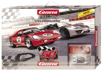 スロットカー Carrera Set Evolution セット Celeb Racers[京商]《在庫切れ》