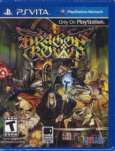 PS Vita 【北米版】DRAGON'S CROWN[インデックス(アトラス)]《在庫切れ》