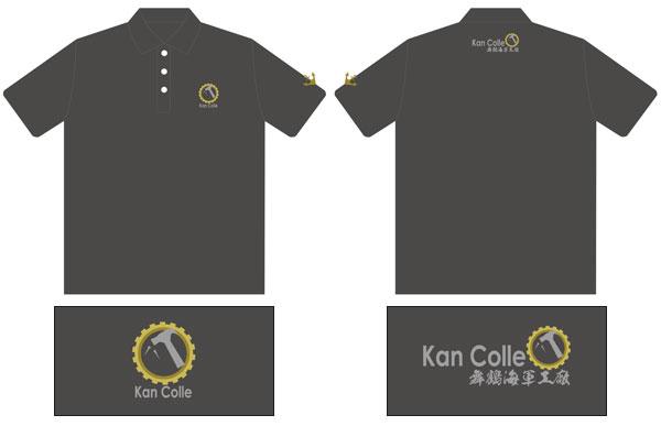 艦隊これくしょん -艦これ- 舞鶴海軍工廠 刺繍ポロシャツ[半袖]-XXL[amisports]《取り寄せ※暫定》