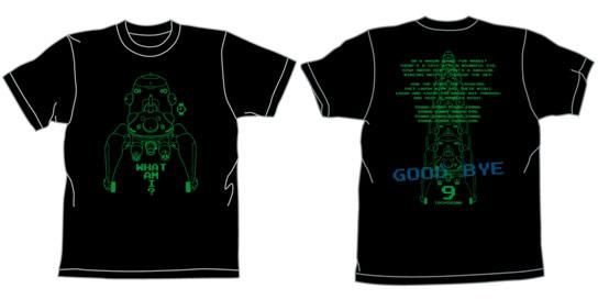 攻殻機動隊S.A.C. タチコマ Tシャツ/ブラック-L(再販)[コスパ]《10月予約》