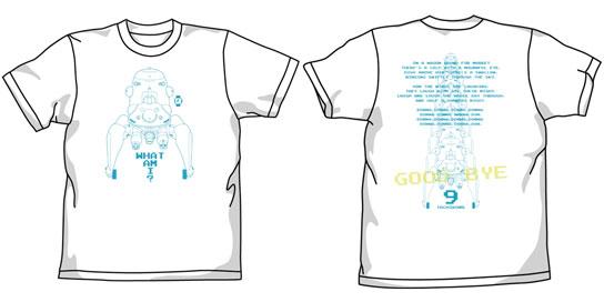 攻殻機動隊S.A.C. タチコマ Tシャツ/ホワイト-L(再販)[コスパ]《10月予約》