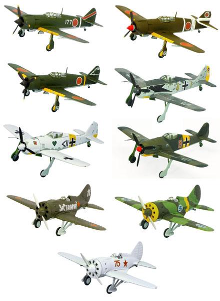 ウイングキットコレクション vol.13 -WWII 日・独・露戦闘機編- BOX(食玩)
