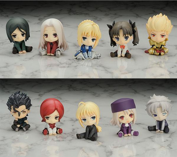 ぺたん娘みにっ! トレーディングフィギュア Fate/Zero 10個入りBOX