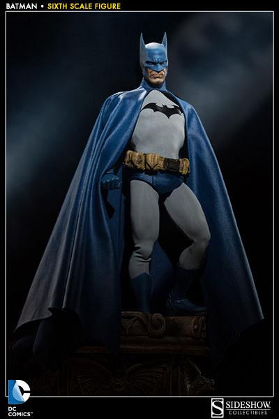 DCコミックス 1/6スケールフィギュア サイドショウ・シックス・スケール バットマン 単品[サイドショウ]《在庫切れ》