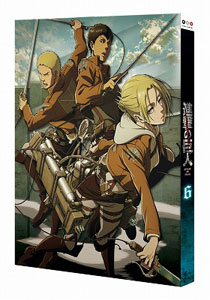 DVD 進撃の巨人 6
