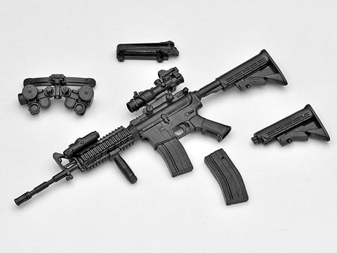 リトルアーモリー LA001 1/12 M4A1タイプ プラモデル(再販)[トミーテック]《在庫切れ》