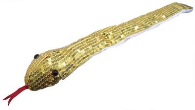 アドベンチャーシリーズ ヘビのペンケース ゴールド[サンライズ]《在庫切れ》