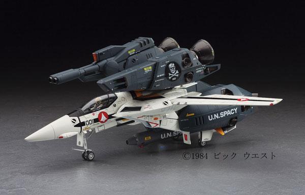 """超時空要塞マクロス 1/48 VF-1S/A ストライク/スーパーバルキリー """"スカル小隊"""" プラモデル(再販)[ハセガワ]《取り寄せ※暫定》"""