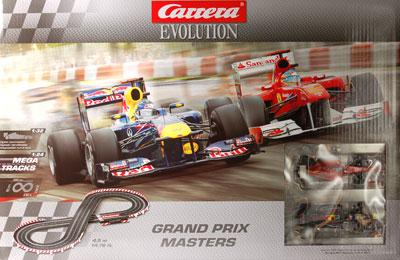 スロットカー Carrera Set Evolution セット Grand Prix Masters[京商]《在庫切れ》