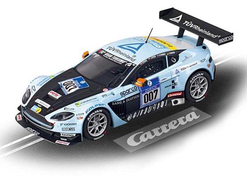 """スロットカー エヴォリューション Aston Martin V12 Vantage GT3 """"Young Driver,No.007""""(再販)[京商]《取り寄せ※暫定》"""