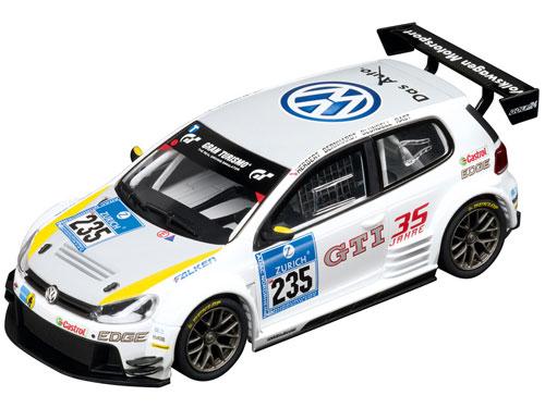 """スロットカー エヴォリューション フォルクスワーゲン Golf24 24h Nürburgring 2011,""""No.235""""[京商]《在庫切れ》"""