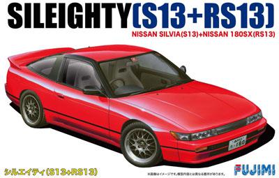 1/24 インチアップシリーズ No.96 ニューシルエイティー S13+RS13 プラモデル(再販)[フジミ模型]《発売済・在庫品》