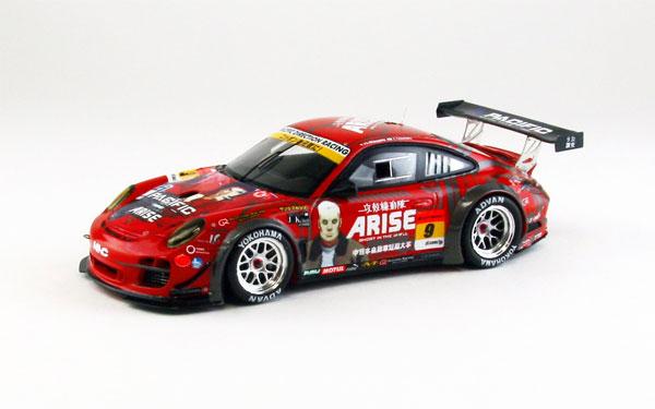 1/43 NAC 攻殻機動隊 ARISE DR PORSCHE SUPER GT300 2013 No.9 レジンモデル[EBBRO]《在庫切れ》