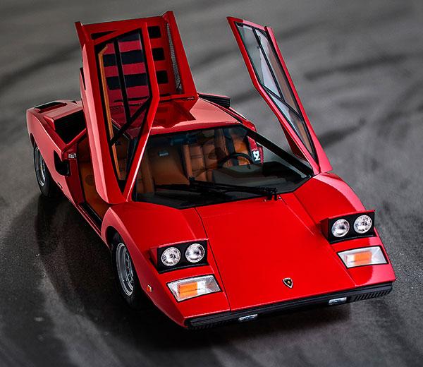 ミニカー 1/12 ランボルギーニ・カウンタック LP400 (レッド)[グッドスマイルレーシング]《在庫切れ》