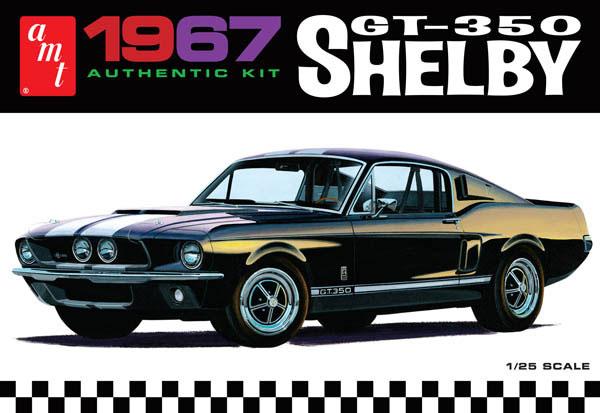 1/25 1967 シェルビー GT-350 パーツ成形色:黒 プラモデル(再販)[AMT]《取り寄せ※暫定》