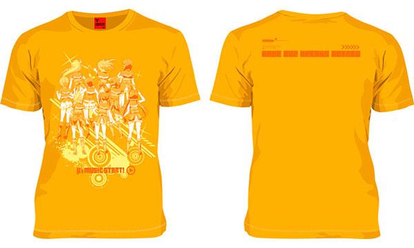 157th ラブライブ! μ's MUSIC START!(2年COLOR ver.) Tシャツ高坂穂乃果ver./Gold-XL[マーズ・シックスティーン]《在庫切れ》