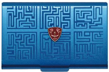スタジオジブリ作品 (3)天空の城ラピュタ メタルカードケース/ブルー[エンスカイ]《在庫切れ》