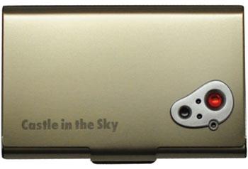 スタジオジブリ作品 (4)天空の城ラピュタ メタルカードケース/アンティーク[エンスカイ]《在庫切れ》