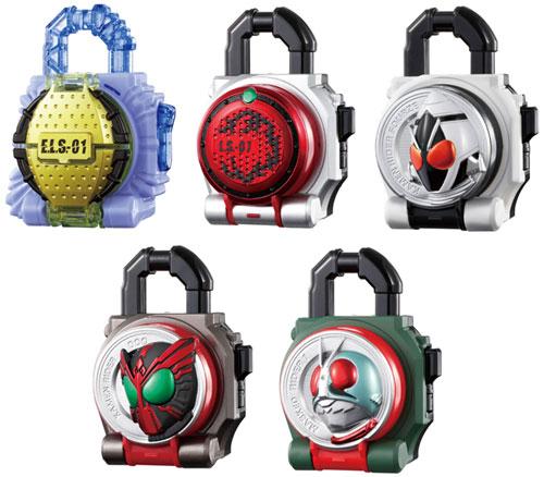 仮面ライダー鎧武 サウンドロックシードシリーズ SGロックシード5 BOX(食玩・仮称)
