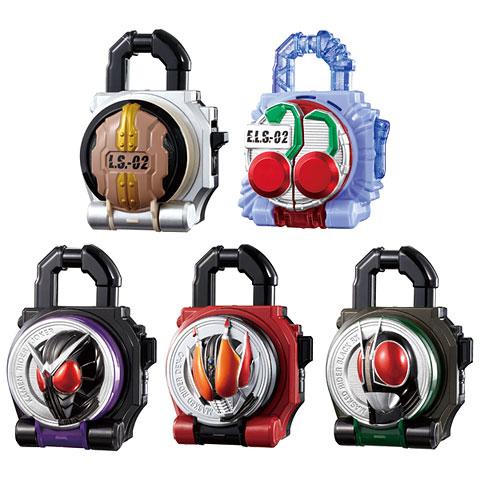 仮面ライダー鎧武 サウンドロックシードシリーズ SGロックシード6 6個入りBOX(食玩・仮称)