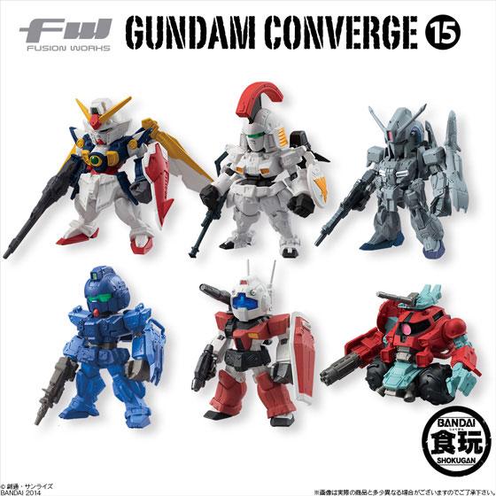 FW GUNDAM CONVERGE 15 10個入りBOX (食玩)[バンダイ]《在庫切れ》