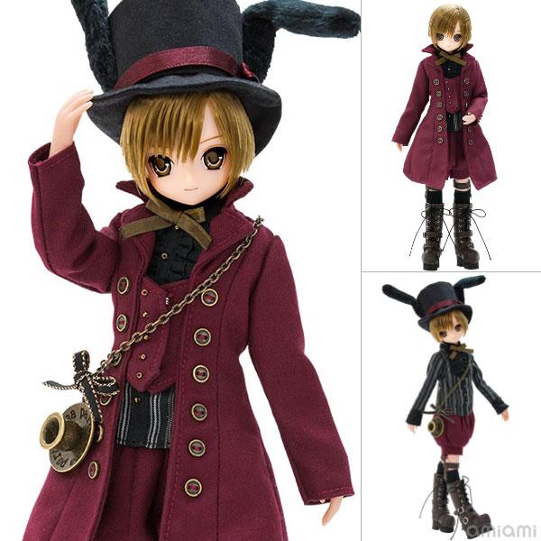 えっくすきゅーと ふぁみりー Alice'sTeaParty 3月のお茶会 帽子屋/あおと 完成品ドール