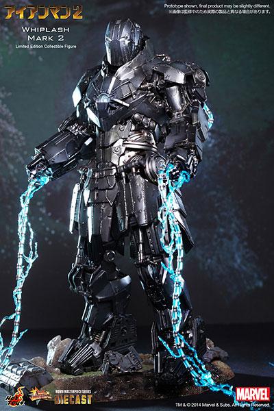 ムービー・マスターピース DIECAST アイアンマン2 1/6スケール フィギュア ウィップラッシュ・マーク2[ホットトイズ]【送料無料】《在庫切れ》