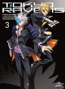 DVD 東京レイヴンズ 第3巻  初回限定版[ジェネオン]《在庫切れ》