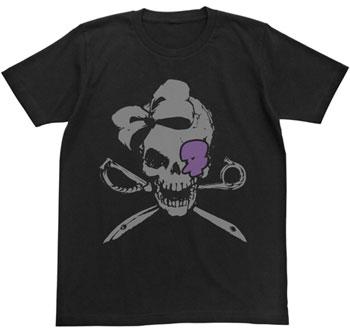 キルラキル 針目縫スカルTシャツ/ブラック-XL(再販)[コスパ]《在庫切れ》