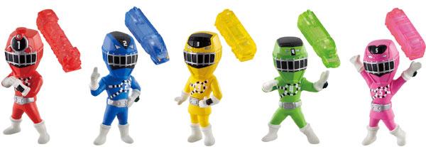 列車戦隊トッキュウジャーWマスコット 12個入りBOX(食玩・仮称)