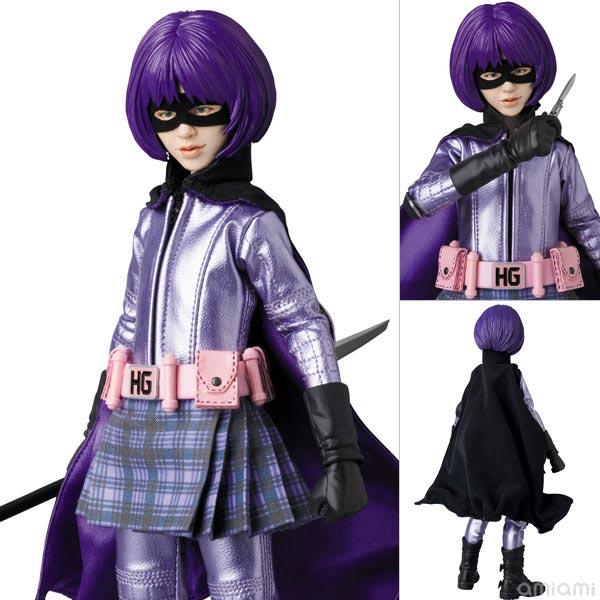 リアルアクションヒーローズ No.677 RAH HIT-GIRL(1作目版)